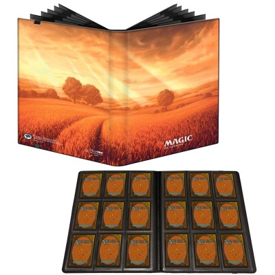 Portfolio Magic the Gathering Unstable - Pro-binder - 20 pages de 9 cases (360 cartes recto-verso) - Plaine