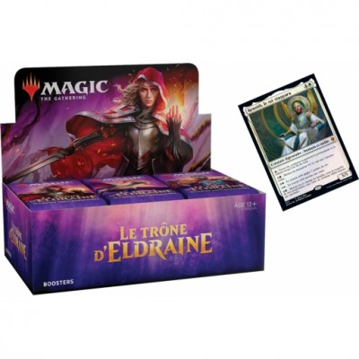Boites de Boosters Magic the Gathering Le Trône d'Eldraine + Carte Promo (Retrait magasin)