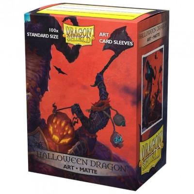 Protèges Cartes illustrées  100 pochettes - Halloween Dragon