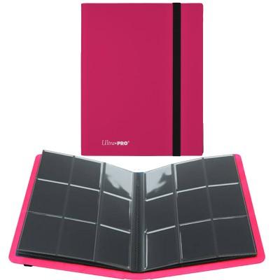 Portfolio  A4 Pro-Binder - ECLIPSE - 20 pages de 9 cases (360 cartes recto-verso) - Eclipse - Hot Pink
