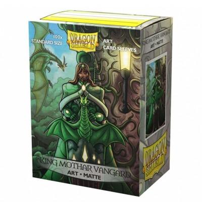 Protèges Cartes illustrées  100 pochettes - King Mothar Vanguard: Portrait