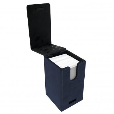 Boites de Rangements Alcove Tower Suede Collection Deck Box - Sapphire