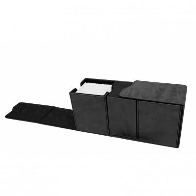 Boite de Rangement  Suede Collection Alcove Vault Deck Box - Jet