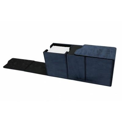 Boites de Rangements  Suede Collection Alcove Vault Deck Box - Sapphire