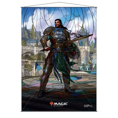 Décoration Magic the Gathering War of the Spark - Wall Scroll - Gideon