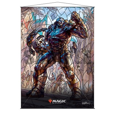 Décoration Magic the Gathering War of the Spark - Wall Scroll - Karn