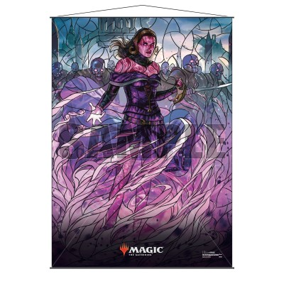 Décoration Magic the Gathering War of the Spark - Wall Scroll - Liliana