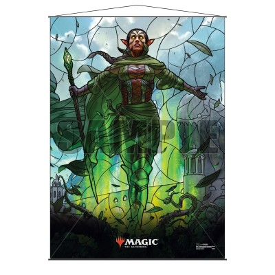 Décoration Magic the Gathering War of the Spark - Wall Scroll - Nissa