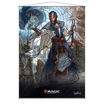 Décoration Magic the Gathering War of the Spark - Wall Scroll - Teferi