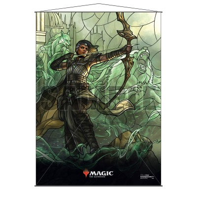 Décoration Magic the Gathering War of the Spark - Wall Scroll - Vivien