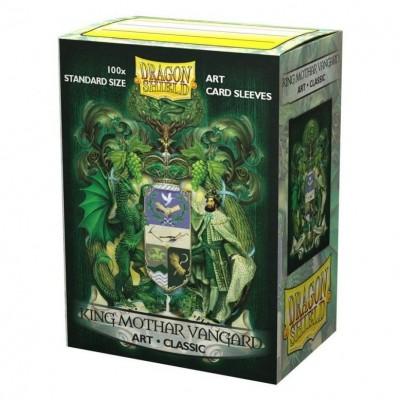 Protèges Cartes illustrées 100 pochettes - King Mothar Vanguard: C. Of Arms