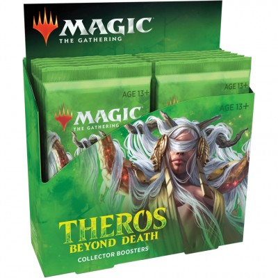 Boosters Magic the Gathering Theros Beyond Death - Collector Boosters - Lot de 12