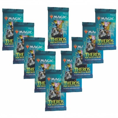 Booster Magic the Gathering Theros Par-delà la Mort - Lot de 10