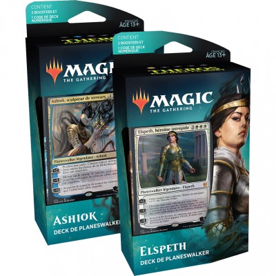 Decks Magic the Gathering Theros Par-delà la Mort - Planeswalker - Lot de 2