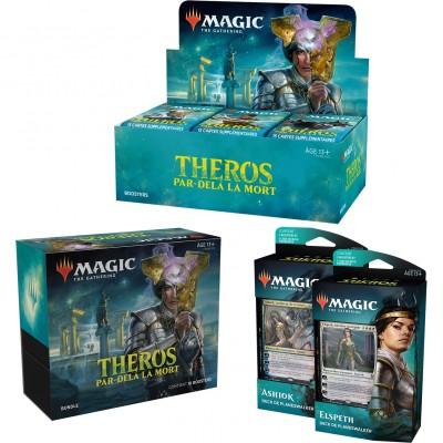 Offres Spéciales Magic the Gathering Theros Par-delà la Mort - Mega Pack : Boite VF + 2 Decks VF + Bundle VF
