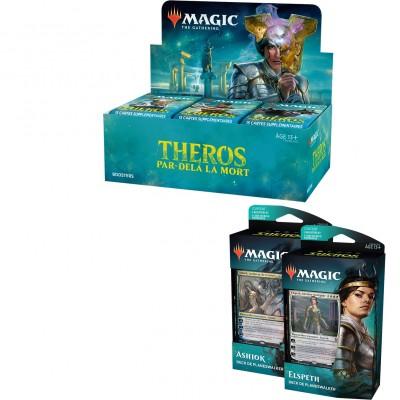 Offres Spéciales Magic the Gathering Theros Par-delà la Mort - Super Pack : Boite VF + 2 Decks VF