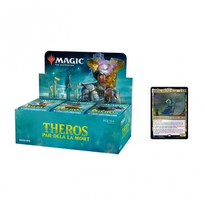 Boites de Boosters Magic the Gathering Theros Par-delà la Mort + Carte Promo (Retrait magasin)