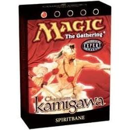 Decks Préconstruits Magic the Gathering Guerriers de Kamigawa - Rouge - Deck Préconstruit Fléau Des Esprit