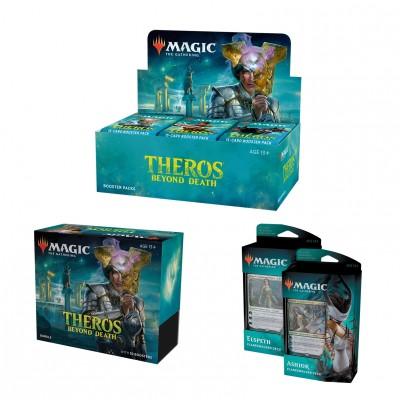 Offres Spéciales Magic the Gathering Theros Beyond Death - Mega Pack : Boite VO + 2 Decks VO + Bundle VO