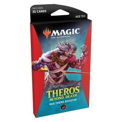 Booster Magic the Gathering Theros Beyond Death - Theme Booster Red