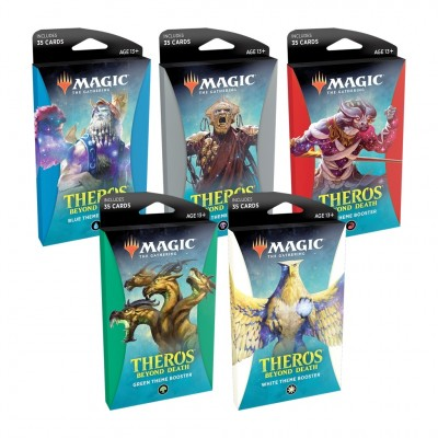 Booster Magic the Gathering Theros Beyond Death - Theme Boosters - Lot de 5