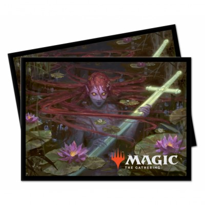 Protèges Cartes illustrées Magic the Gathering Le Trône d'Eldraine - Emry, guetteuse du Loch