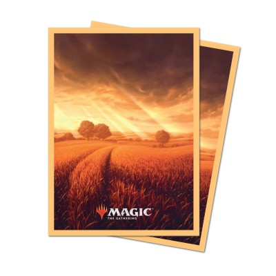 Protèges Cartes illustrées Magic the Gathering Unstable - 100 Pochettes - Plains