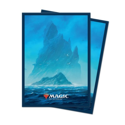 Protèges Cartes illustrées Magic the Gathering Unstable - 100 Pochettes - Island