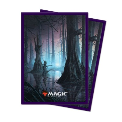 Protèges Cartes illustrées Magic the Gathering Unstable - 100 Pochettes - Swamp
