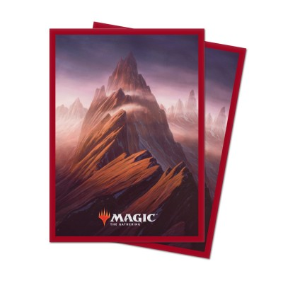 Protèges Cartes illustrées Magic the Gathering Unstable - 100 Pochettes - Mountain