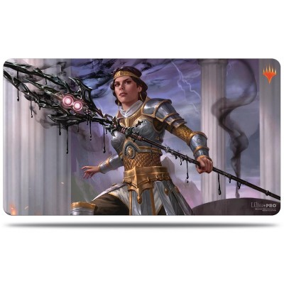 Tapis de Jeu Magic the Gathering Theros par-delà la mort - Playmat - V3 - Elspeth, némésis du Soleil