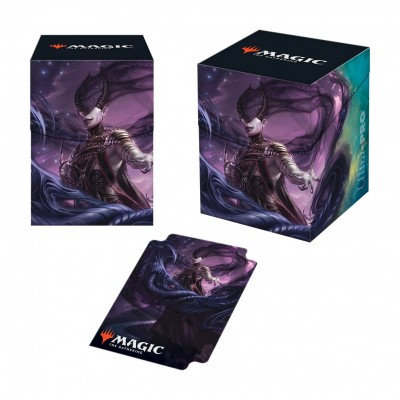 Boites de rangement illustrées Magic the Gathering Theros par-delà la mort - Deck Box 100+ - V1 - Ashiok, muse des cauchemars