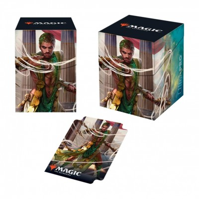 Boite de rangement illustrée Magic the Gathering Theros par-delà la mort - Deck Box 100+ - V2 - Calix, main de la destinée
