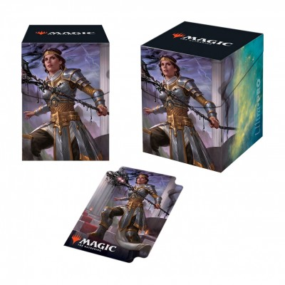 Boites de rangement illustrées Magic the Gathering Theros par-delà la mort - Deck Box 100+ - V3 - Elspeth, némésis du Soleil