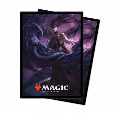 Protèges Cartes illustrées Magic the Gathering Theros par-delà la mort - 100 Pochettes - V1 - Ashiok, muse des cauchemars