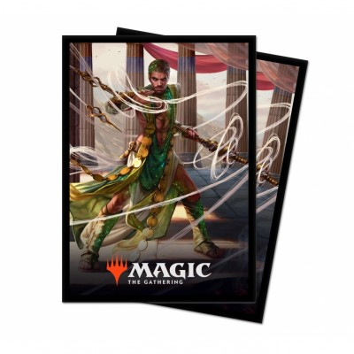 Protèges Cartes illustrées Magic the Gathering Theros par-delà la mort - 100 Pochettes - V2 - Calix, main de la destinée