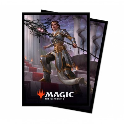 Protèges Cartes illustrées Magic the Gathering Theros par-delà la mort - 100 Pochettes - V3 - Elspeth, némésis du Soleil