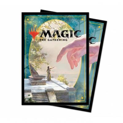 Protèges Cartes illustrées Magic the Gathering Theros par-delà la mort - 100 Pochettes - V4 - Précepteur idyllique