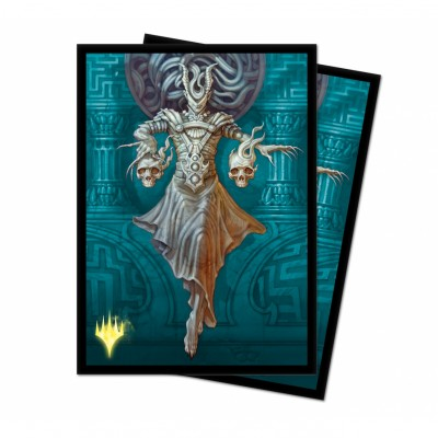 Protèges Cartes illustrées Magic the Gathering Theros par-delà la mort - 100 Pochettes - V8 - Ashiok, muse des cauchemars - Version Alternative