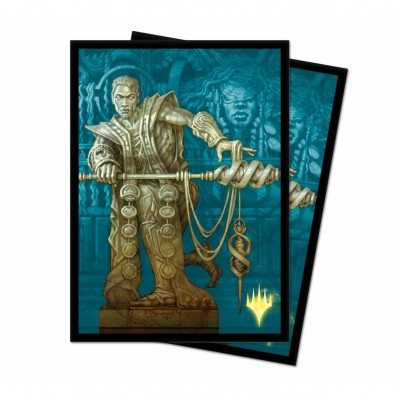 Protèges Cartes illustrées Magic the Gathering Theros par-delà la mort - Calix, main de la destinée - Version Alternative