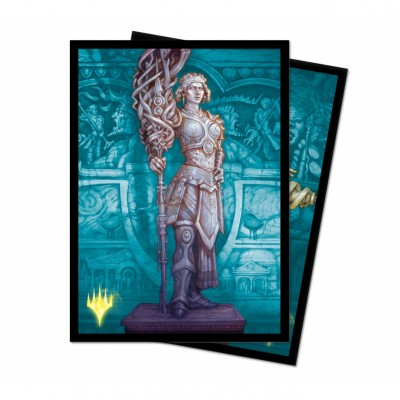 Protèges Cartes illustrées Magic the Gathering Theros par-delà la mort - Elspeth, némésis du Soleil - Version Alternative