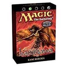 Decks Préconstruits Magic the Gathering Guerriers de Kamigawa - Noir/Vert - Deck Préconstruit Renaissance des Kami