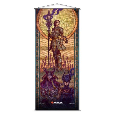 Décoration Magic the Gathering Theros par-delà la mort - Wall Scroll - Elspeth Conquers Death