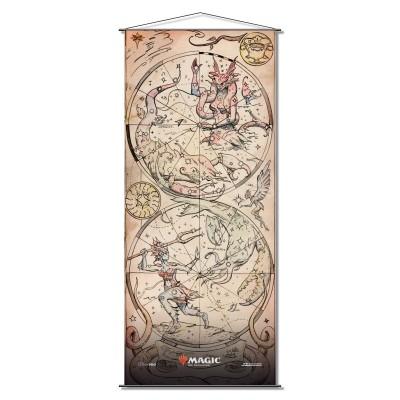 Décoration Theros par-delà la mort - Wall Scroll - Kiora Bests the Sea God