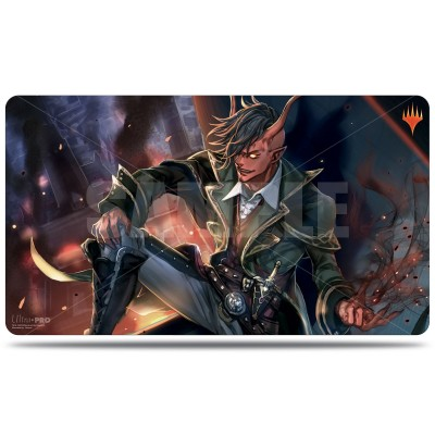 Tapis de Jeu Magic the Gathering La Guerre des Planeswalkers - Alternate Art Tibalt