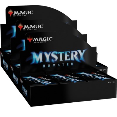 Boites de Boosters Magic the Gathering Mystery Booster - Lot de 3
