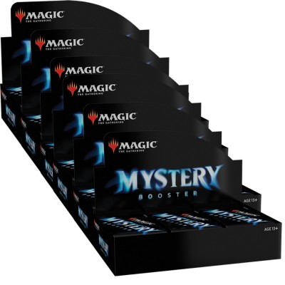 Boites de Boosters Magic the Gathering Mystery Booster - Lot de 6