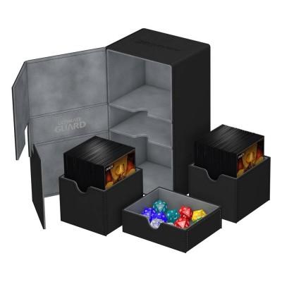 Boites de Rangements  Twin Flip'n'Tray 200+ - Xenoskin - Noir