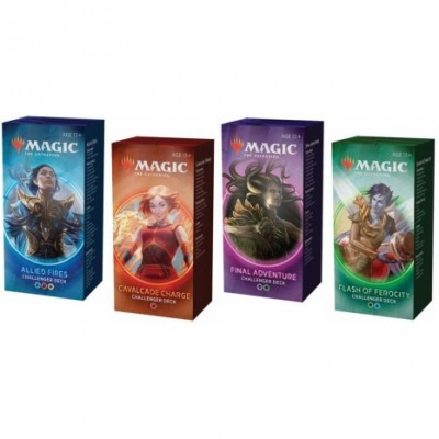 Decks Magic the Gathering Challenger Deck 2020 - Lot des 4 Decks