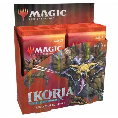 Boites de Boosters Magic the Gathering Ikoria La Terre des Béhémoths - Collector Boosters - Lot de 12